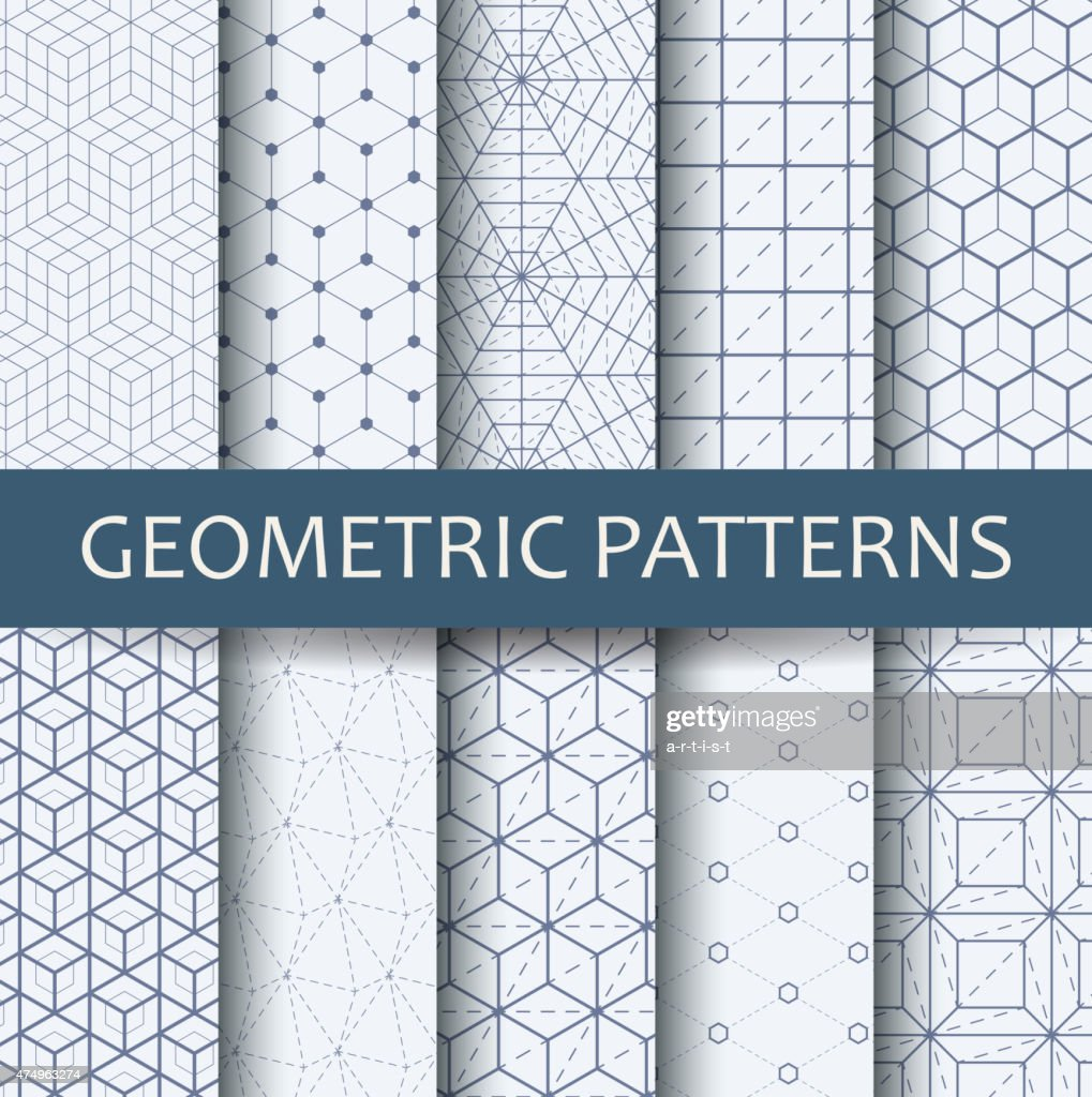 Geometric patterns : Vector Art