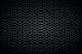 Geometric polygons background, abstract black metallic hexagons wallpaper, vector illustration