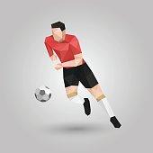 geometric run with ball