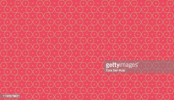 geometric seamless design line pattern - intricacy stock illustrations