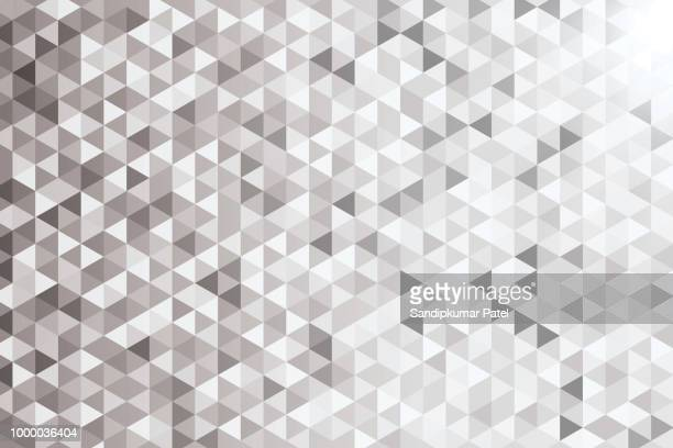 geometric seamless pattern background - fractal stock illustrations