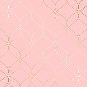 Geometric shape ornament. Modern stylish texture.