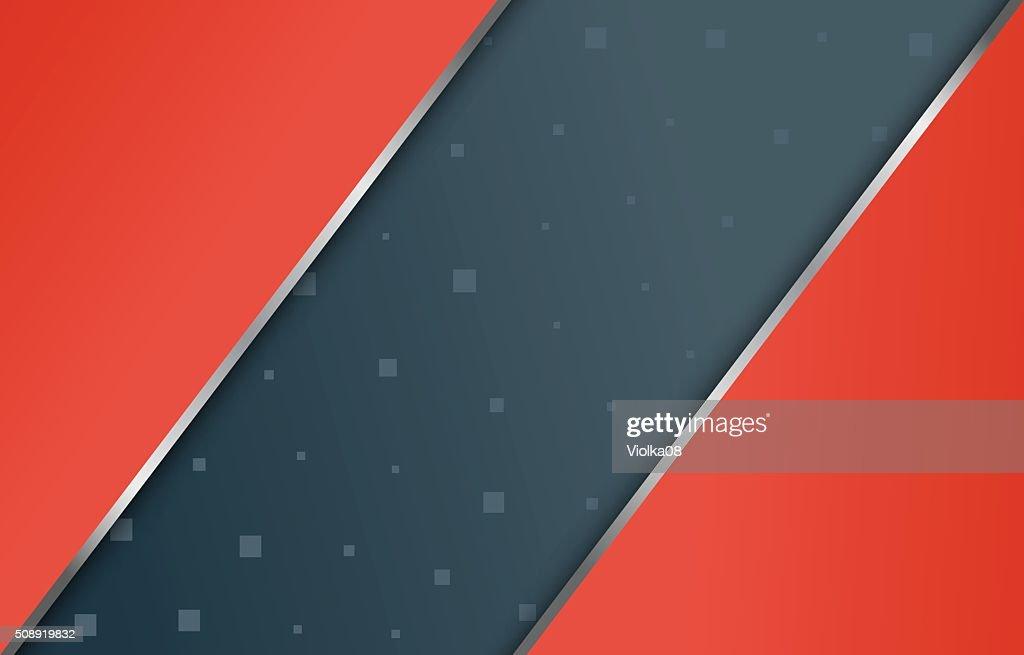 Geometric shapes in modern material design