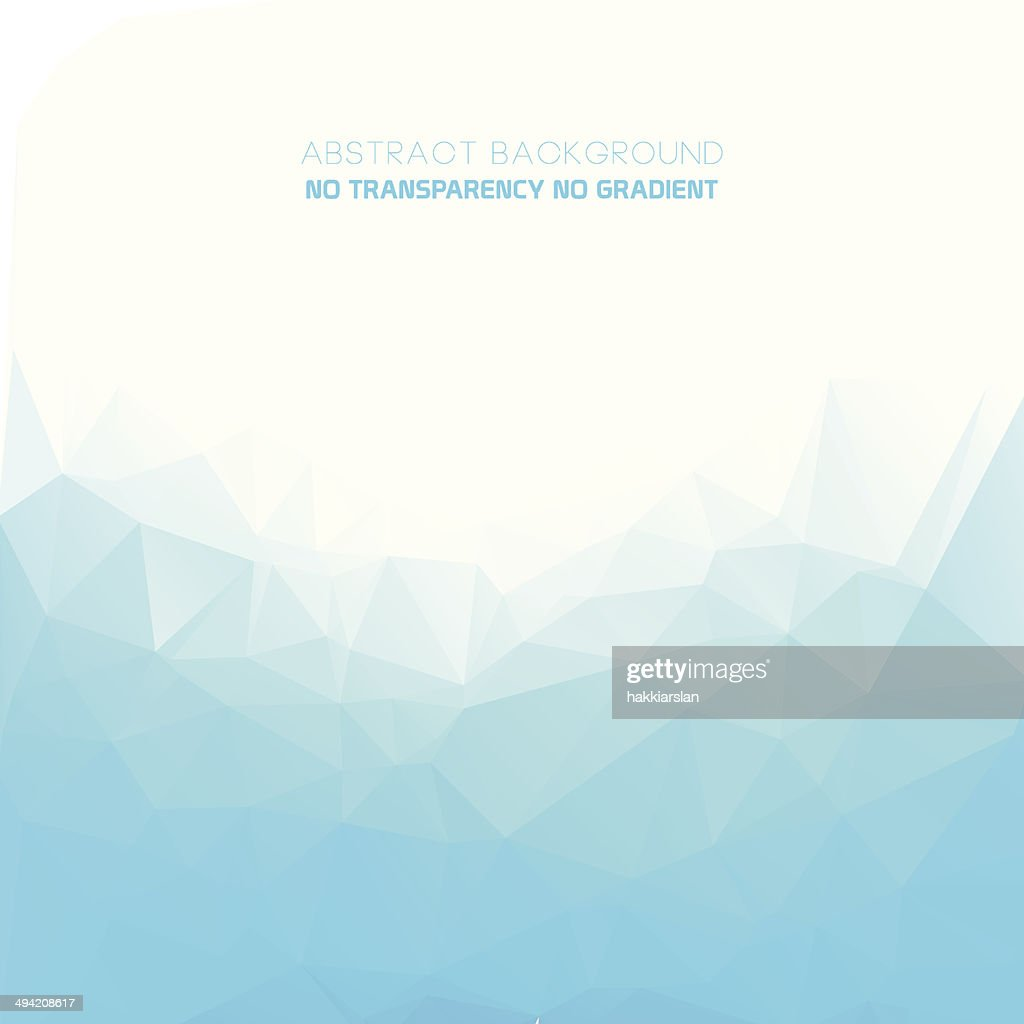 Geometric style abstract polygonal blue background