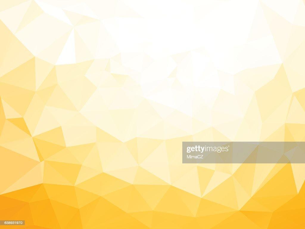 geometric yellow pattern