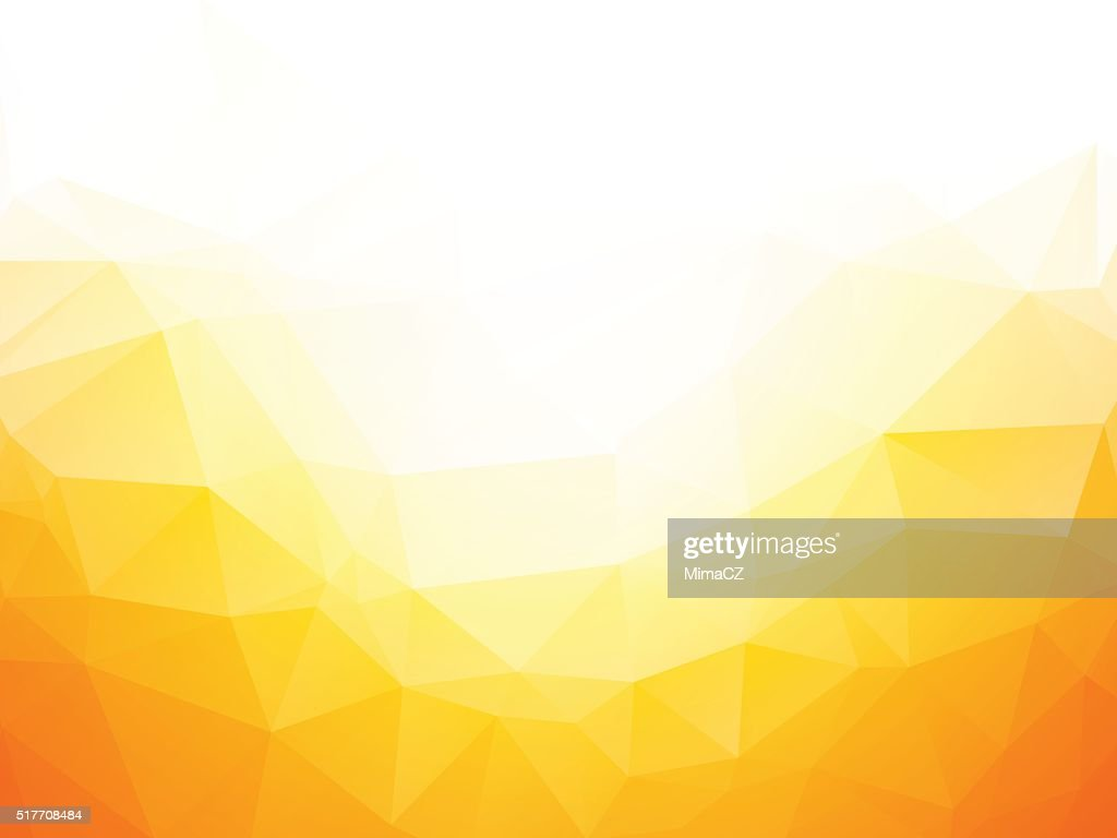 Geometric yellow texture background