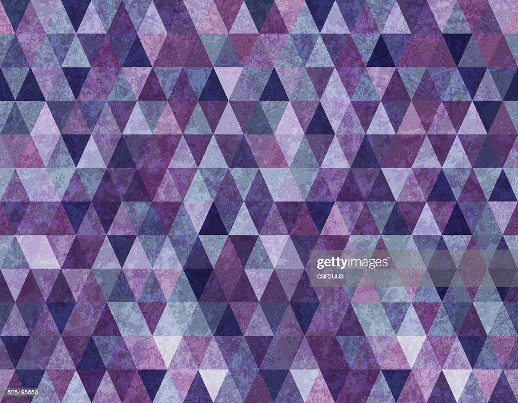 geometrical grunge seamless pattern