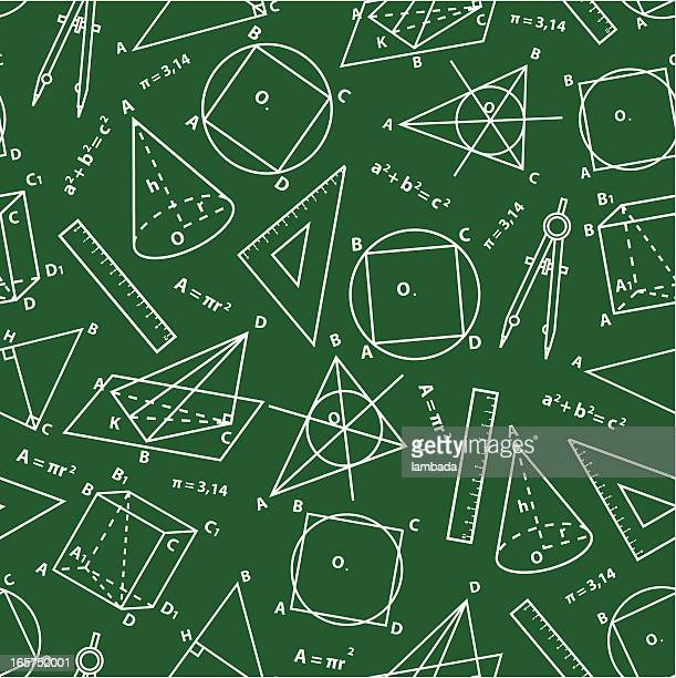 Geometry background.
