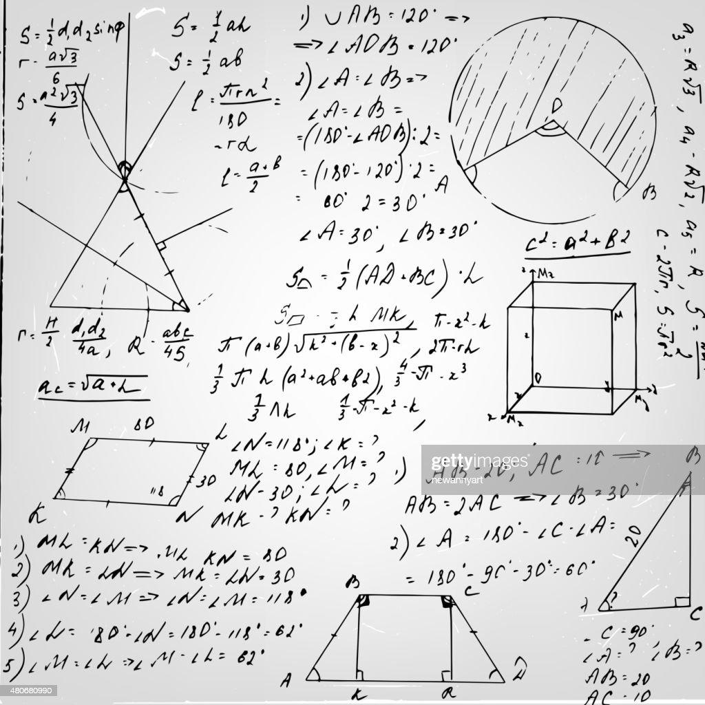 Geometry Formula Paper