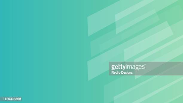 geometry lines pattern with green background - abstract backgrounds stock illustrations