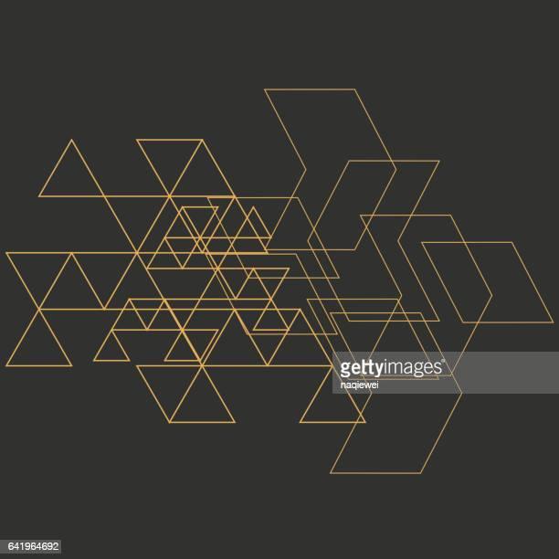 ilustrações, clipart, desenhos animados e ícones de cenário de padrão de geometria - linha reta