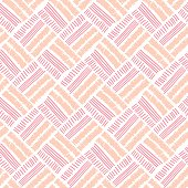 geometry rose color vector seamless pattern