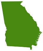 Georgia - US State map