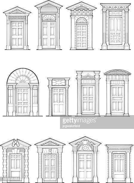 Georgian Door Details