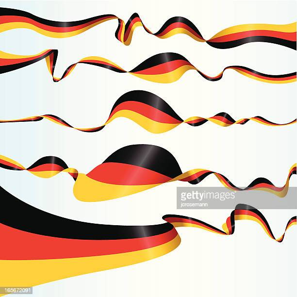 german banners - germany stock illustrations