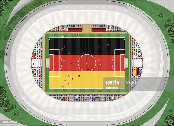 German Football Stadium