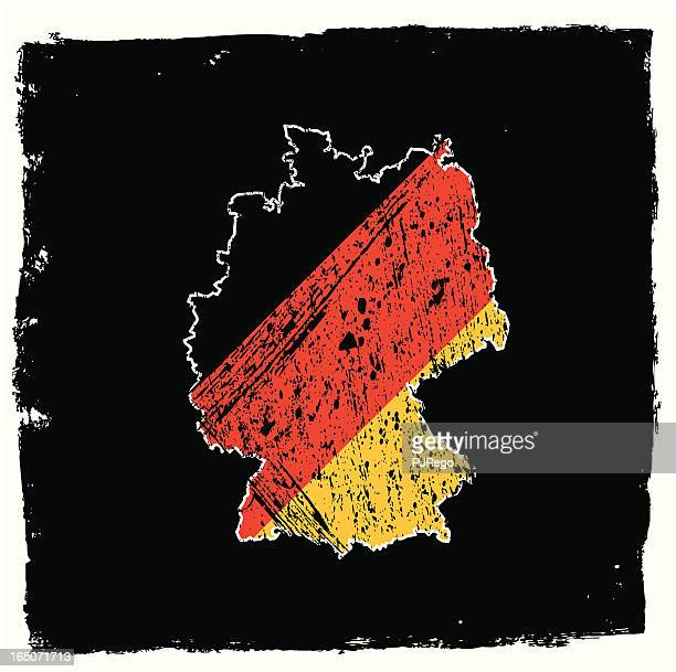 Germany Abstract Grunge Series