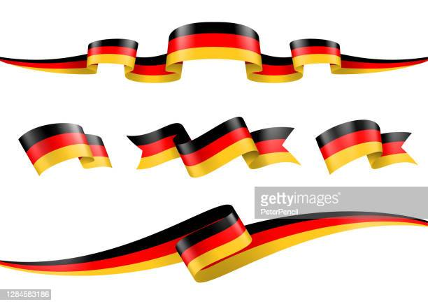 illustrazioni stock, clip art, cartoni animati e icone di tendenza di set di barre multifunzione bandiera germania - illustrazione di materiale vettoriale - cultura tedesca