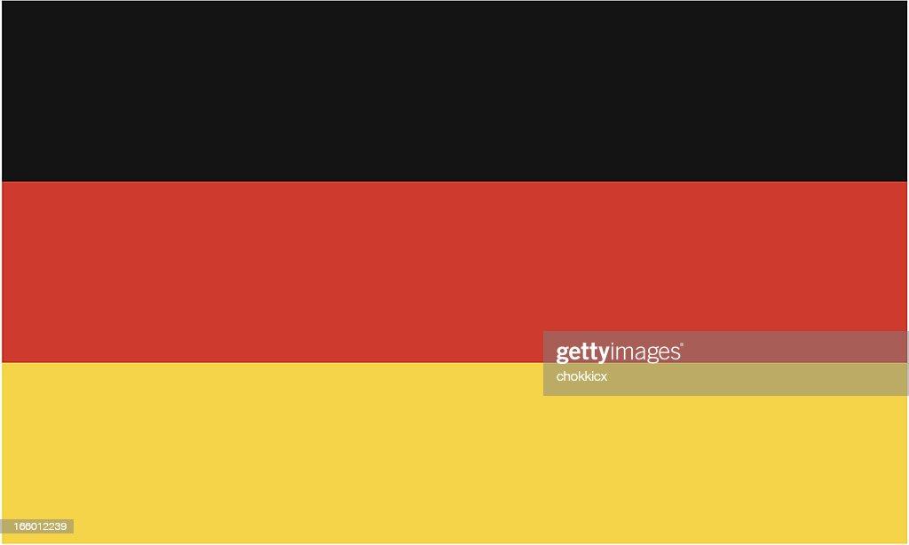 ドイツフラグ : ストックイラストレーション