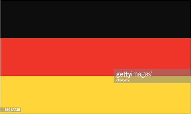 stockillustraties, clipart, cartoons en iconen met germany flag - duitsland