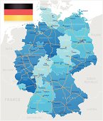 Germany - road map