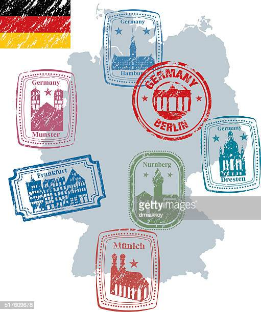 L'Allemagne Timbre