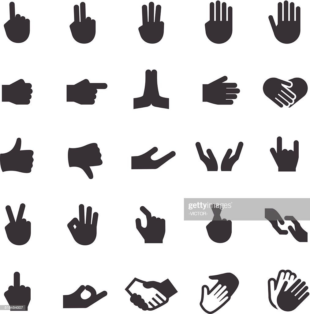 Gesture Icons - Smart Series