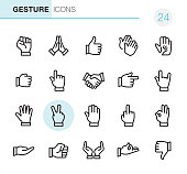 Gesture - Pixel Perfect icons