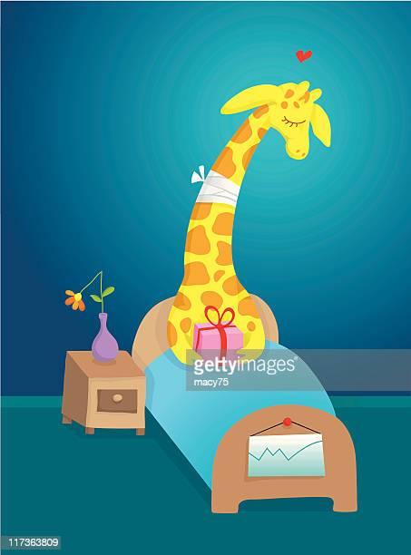 Get well soon giraffe