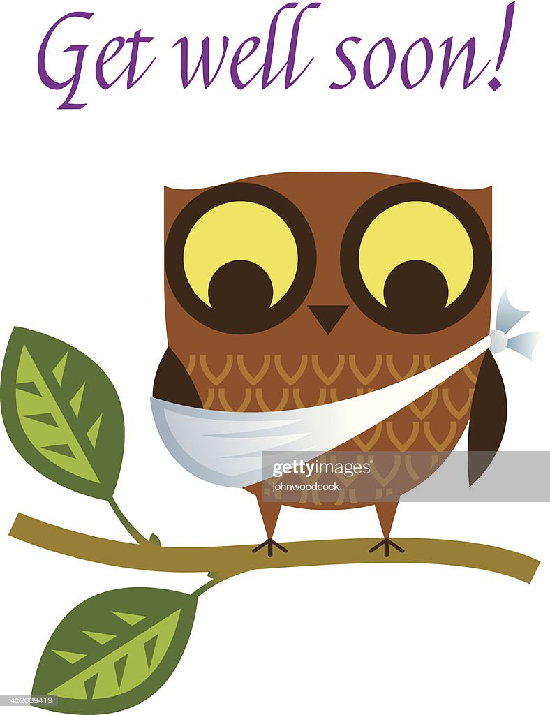 Get Well Card Stock Illustrations And Cartoons Getty Images