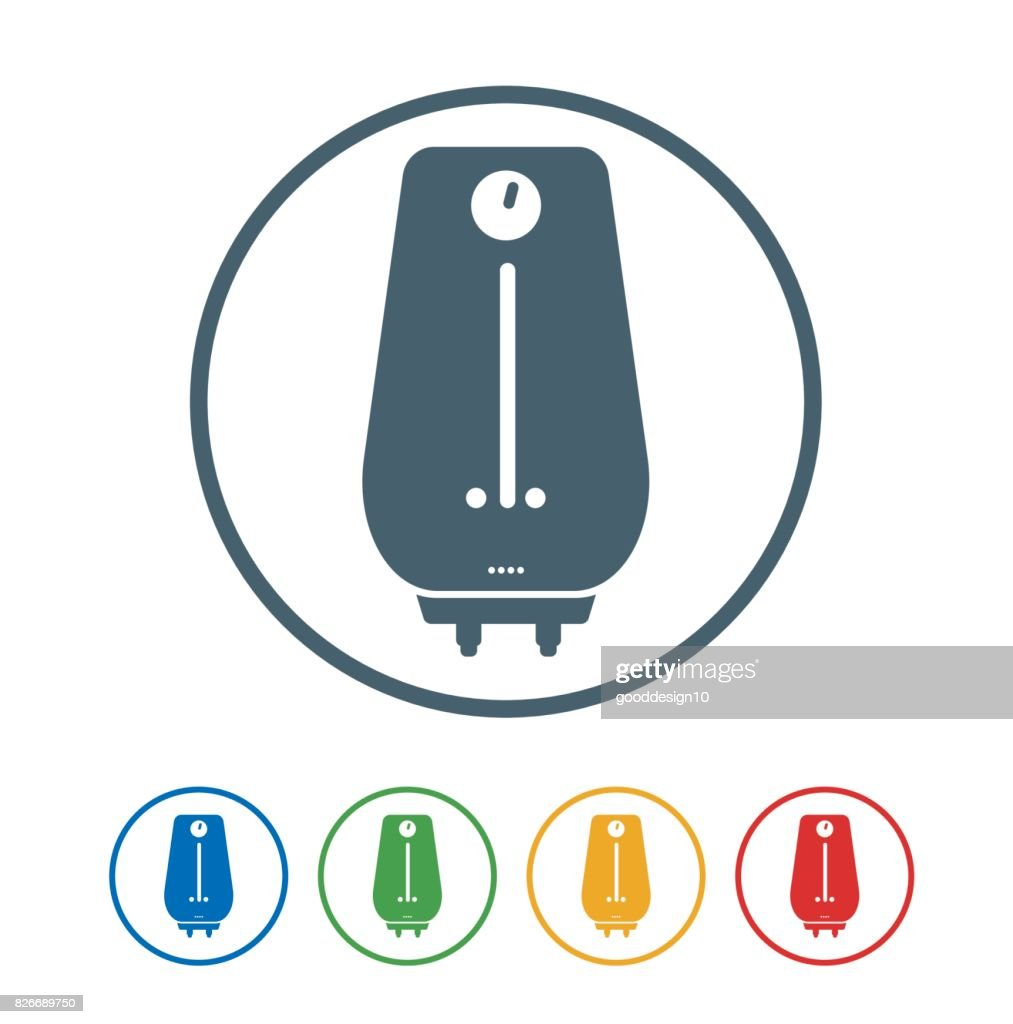 Geyser flat Icon Isolated on White Background.vector illustration icon