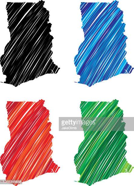 ghana scribble - accra stock illustrations, clip art, cartoons, & icons