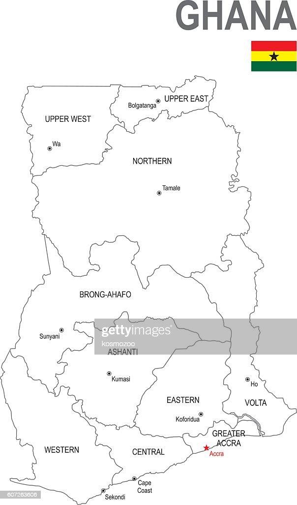 Ghana : stock illustration