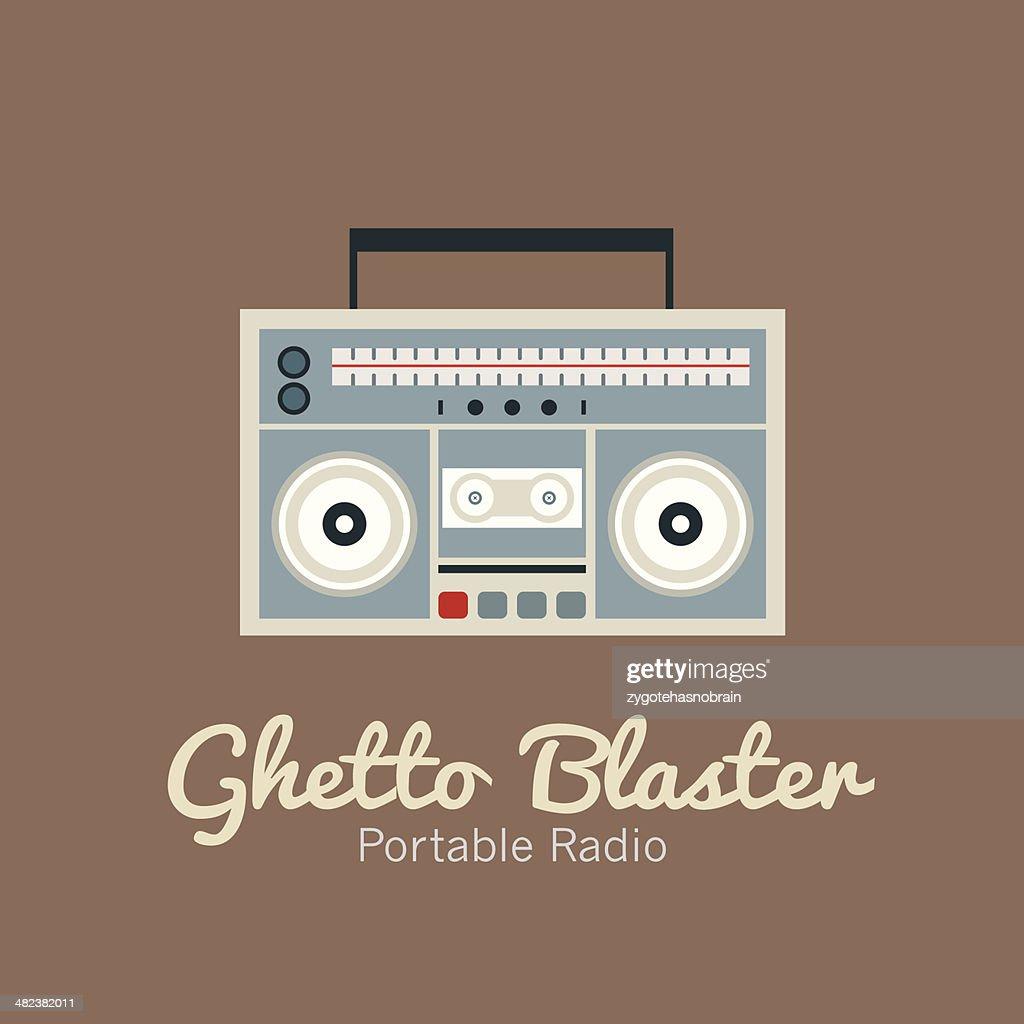 Ghetto Blaster Radio