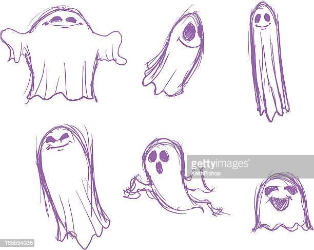 Ghost Pencil Sketch