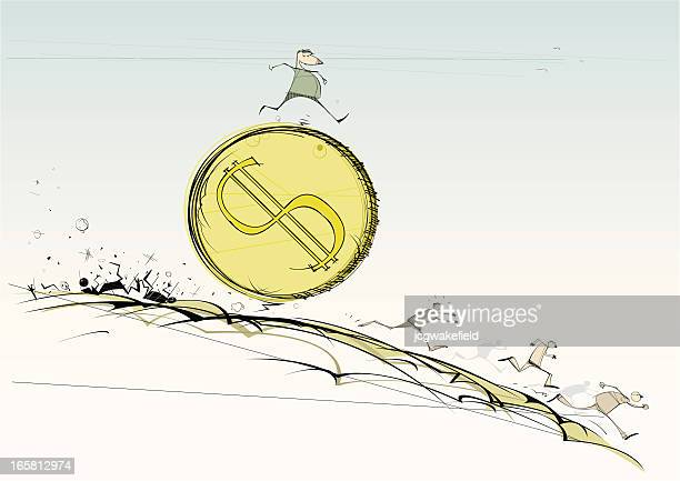 巨大なコイン