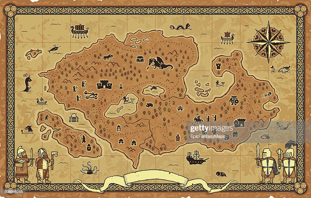 Giant Fantasy Map