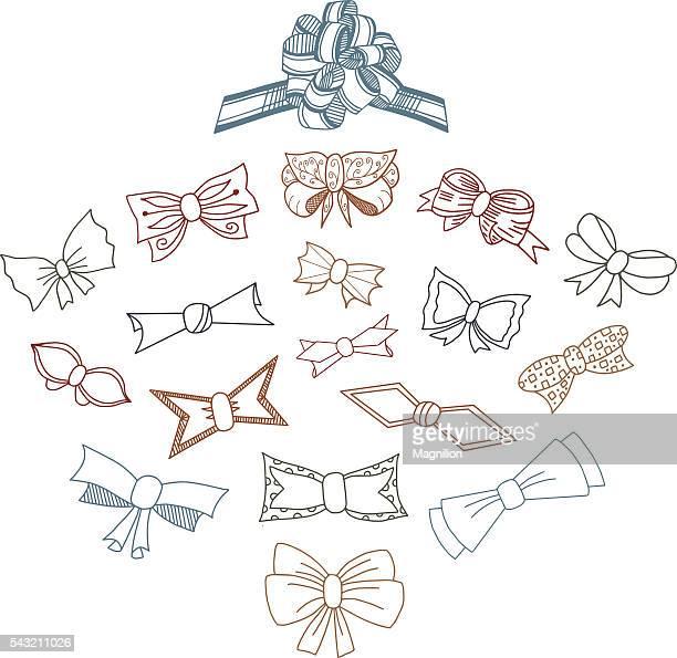 Set Doodle de cadeau Arcs