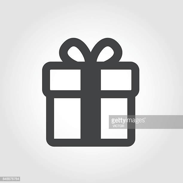 Gift Box Icon - Iconic Series