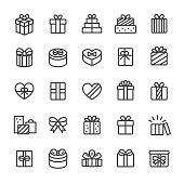 Gift Box Icons - Smart Line Series