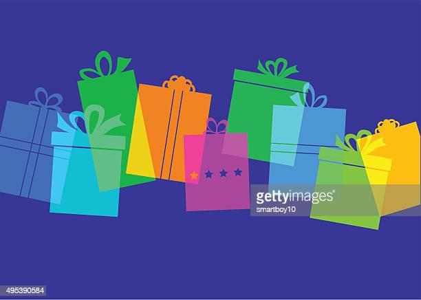 Coffret cadeau présent