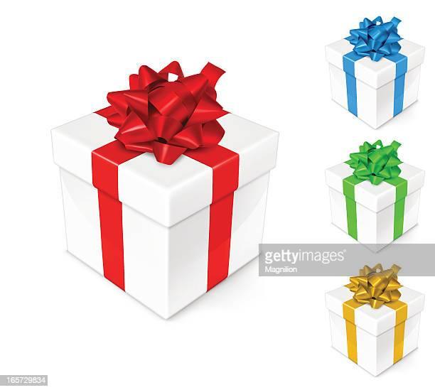 gift box - gift box stock illustrations