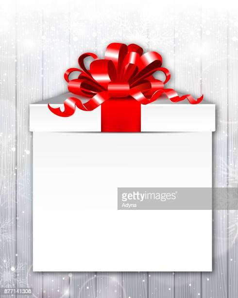 gift box - christmas present stock illustrations