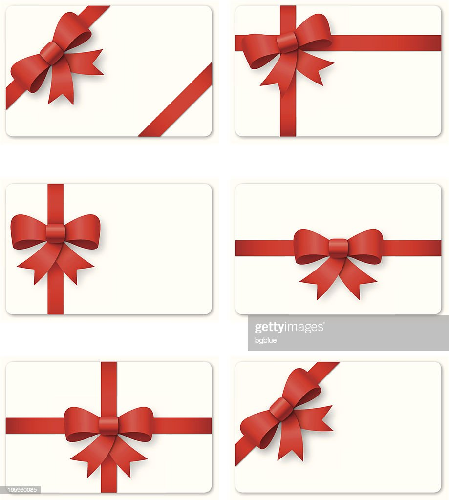 Gift Card Vector Art Getty Images
