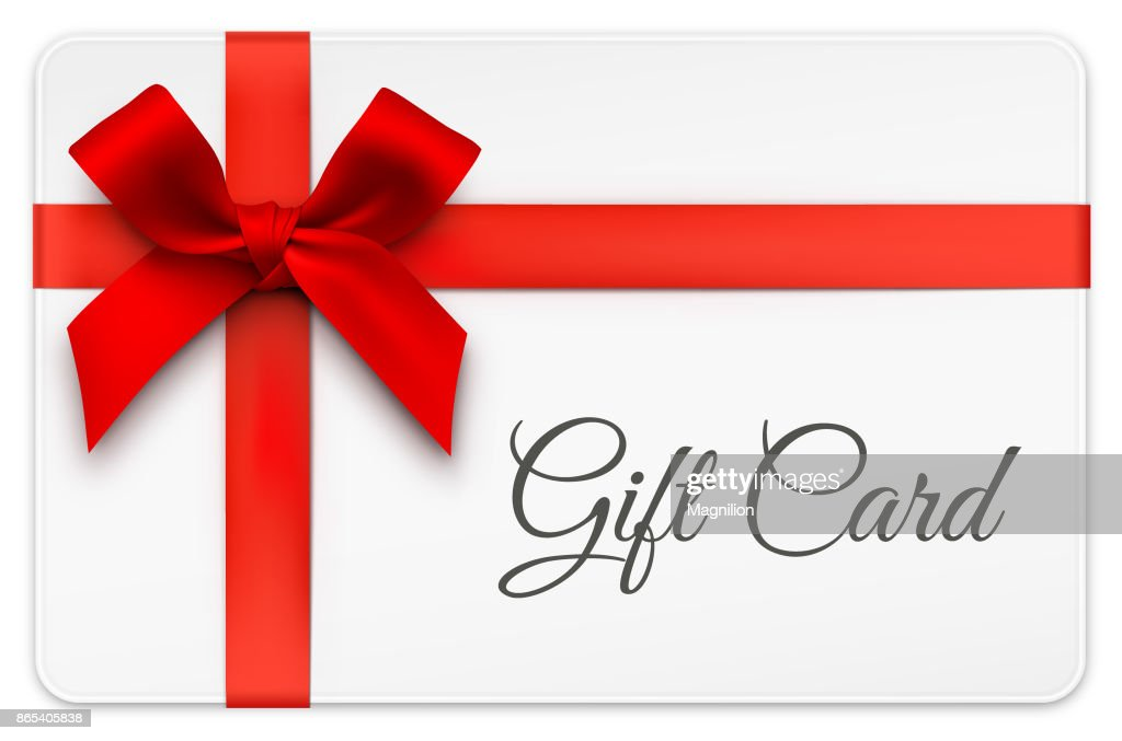 Gift Card with Red Bow