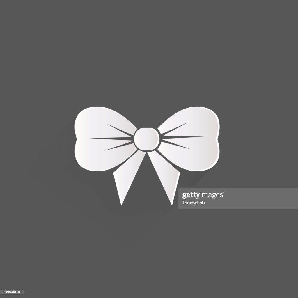 Gift, Christmas bow web icon