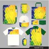 Gift set template, Corporate identity design.