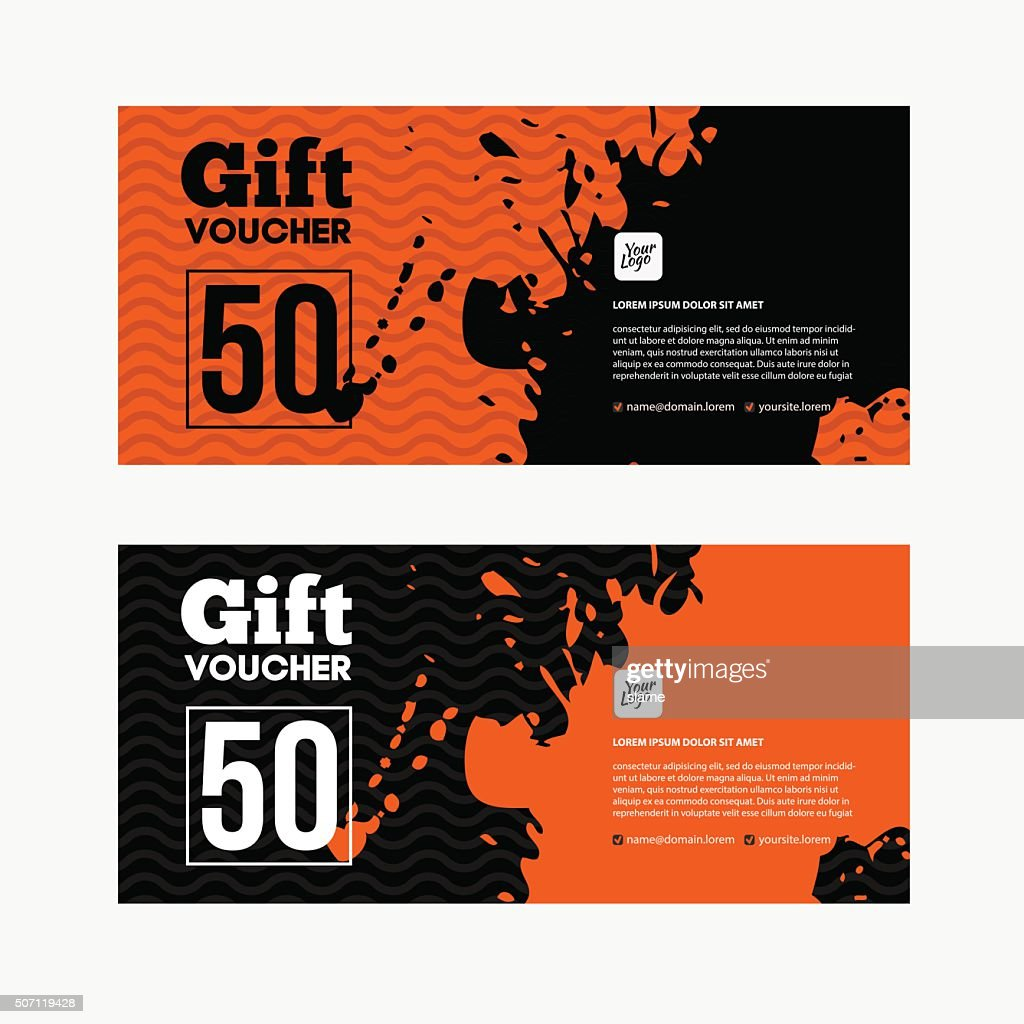 Gift voucher or Sale coupon