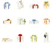Gifts & Presents Icons