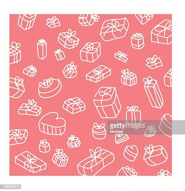 gifts wallpaper background - generic description stock illustrations, clip art, cartoons, & icons